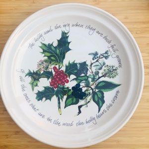 The Holly and The Ivy Platter Tray Portmeirion